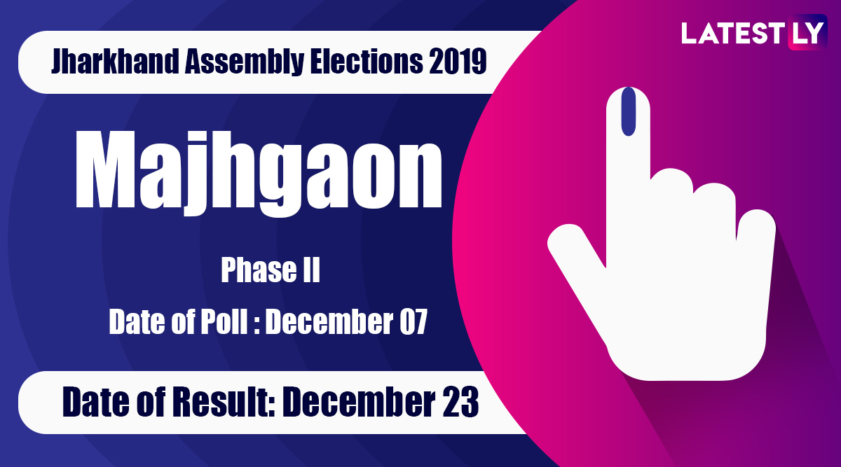 Majhgaon(ST) Vidhan Sabha Constituency Result in Jharkhand Assembly Elections 2019: Niral Purty of JMM Wins MLA Seat