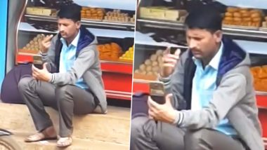 Anand Mahindra Shares Clip of Man Video Calling Using Sign Language to Give a Nice Message About Smartphones (Watch Viral Video)
