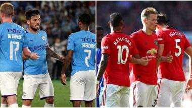 MCI vs MUN Dream11 Team Prediction in EFL Cup 2019–20: Tips to Pick Best Side for Man City vs Man United Carabao Cup Semi-Final Football Match