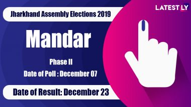 Mandar Vidhan Sabha Constituency in Jharkhand: Sitting MLA, Candidates For Assembly Elections 2019, Results And Winners