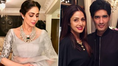 Happy Birthday, Manish Malhotra! Sridevi Kapoor's Intangible Affair With Your Stunning Sarees Was Timeless Elegance Personified!