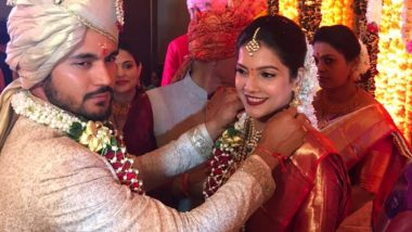 Manish Pandey and Ashrita Shetty Wedding Photos: Indian Cricketer Marries Actress Hours After Leading Karnataka to Syed Ali Mushtaq Trophy Victory