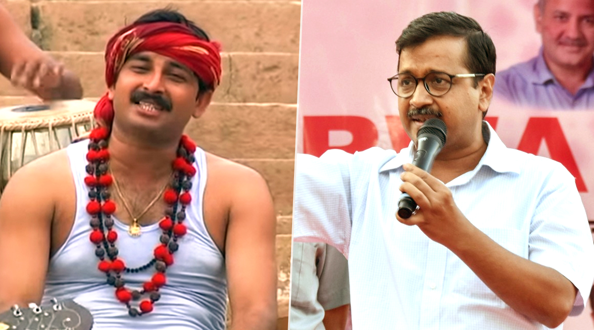 BJP Sends Rs 500 Crore Defamation Notice to Arvind Kejriwal for Using Manoj Tiwari's Video in AAP's 2020 Delhi Elections Campaign Song 'Lage Raho Kejriwal'