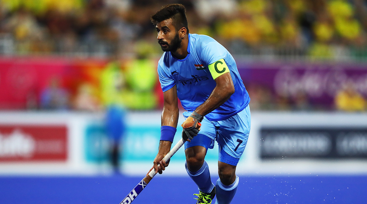 Manpreet Singh, India Men's Hockey Team Captain, Nominated for FIH Player of the Year 2019