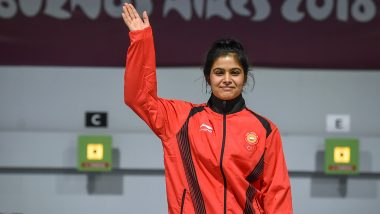 Manu Bhaker at Tokyo Olympics 2020, Shooting Live Streaming Online: Know TV Channel & Telecast Details for Women's 25m Pistol Qualification Rapid Coverage