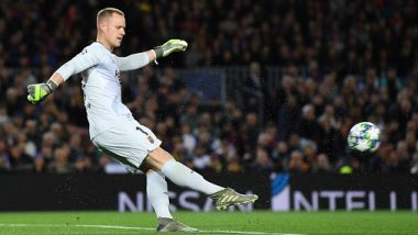 Barcelona Goalkeeper Marc-Andre Ter Stegen Overtakes Cristiano Ronaldo, Eden Hazard, and Many Others As He Records Yet Another Assist in the Season