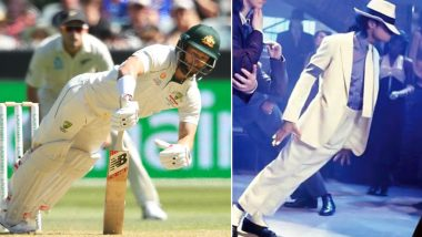 Matthew Wade Unintentionally Imitates Michael Jackson's Signature Dance Move During AUS vs NZ Boxing Day Test 2019, Twitterati Draw Comparisons