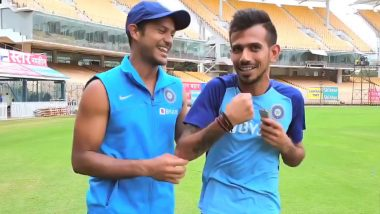 IND vs WI ODI Series 2019: Mayank Agarwal Makes Debut in Latest Episode of Chahal TV, Opens Up About His Mindset (Watch Video)