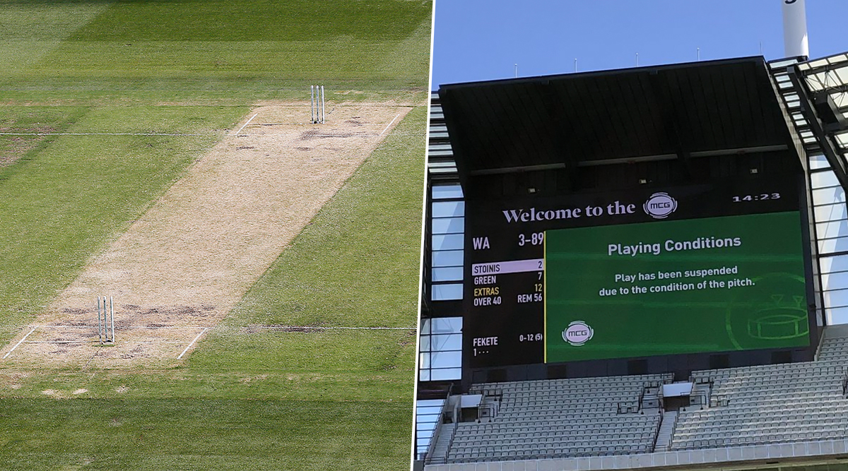 Melbourne Cricket Ground (MCG) Pitch Deemed Too Dangerous in Sheffield Shield Match Ahead of Australia vs New Zealand Boxing Day Test