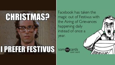 Funny Festivus 2019 Memes And Jokes: LOL At These Hilarious Anti-Holiday Season Posts Right Before December 25