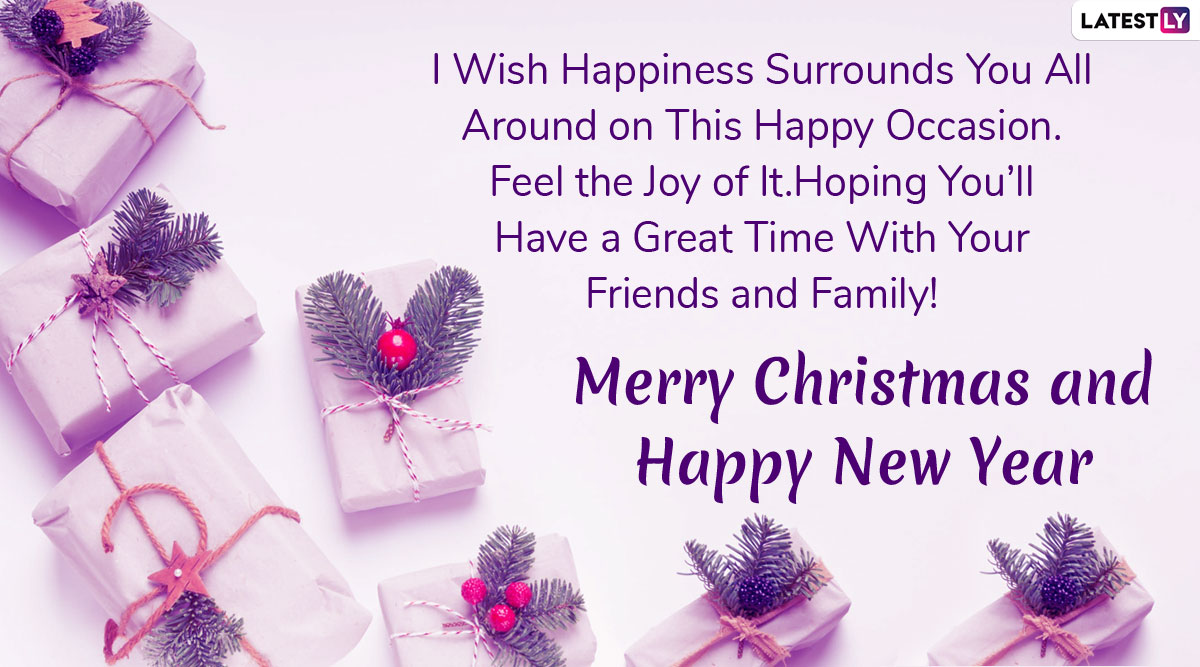 Merry Christmas and Happy New Year 2020 Wishes in Advance ...