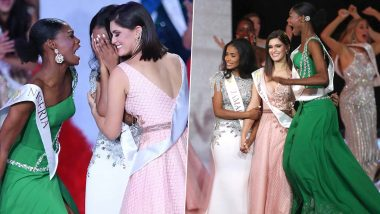 Miss Nigeria Nyekachi Douglas' Thrilling Reaction at Toni-Ann Singh's Winning Announcement as Miss World 2019 Has People Wanting a Friend Like Her