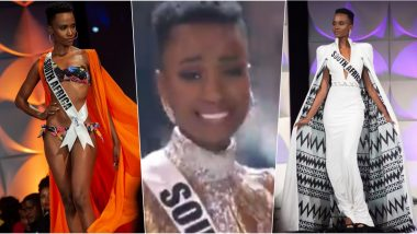 Miss Universe 2019 Winner Name is Zozibini Tunzi of South Africa; Miss Puerto Rico and Miss Mexico Declared 1st and 2nd Runner-Up at 68th Annual Miss Universe Competition