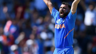 Mohammed Shami Becomes Highest ODI Wicket-Taker in 2019, Achieves Feat During India vs West Indies 2nd ODI in Vizag