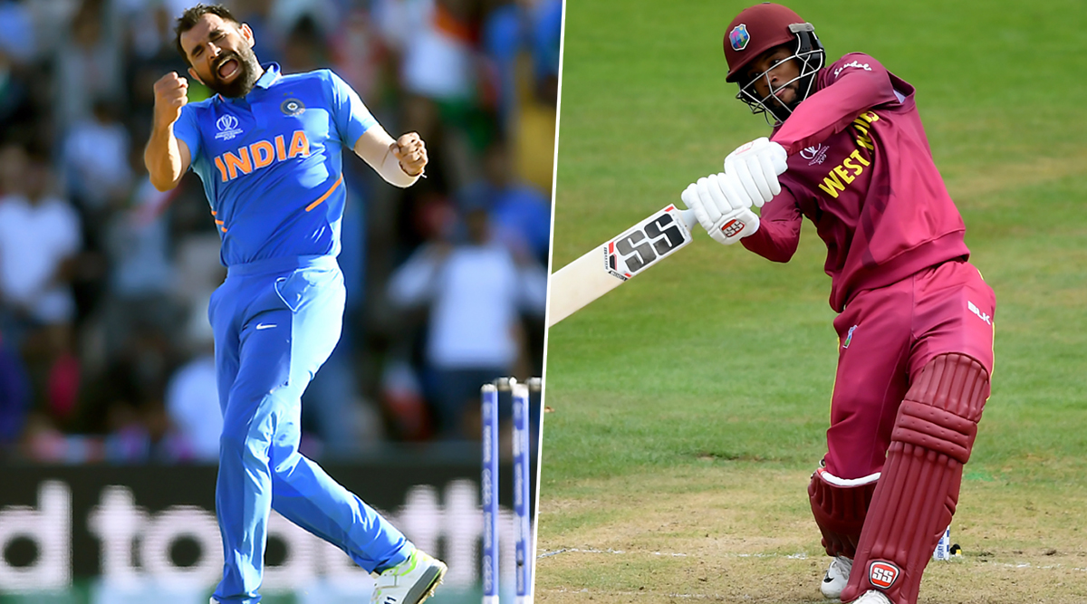 India vs West Indies, 1st ODI 2019: Mohammed Shami vs Shai Hope & Other Exciting Mini Battles to Watch Out for in Chennai
