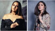 Most Tweeted Handles in Entertainment 2019 Female: Sonakshi Sinha, Anushka Sharma, Lata Mangeshkar & Other Top Female Twitter Profiles in India