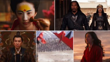 Mulan Trailer: A Brilliant Liu Yifei Makes up for Mushu's Disappearance in Disney's New Live-Action Remake (Watch Video)