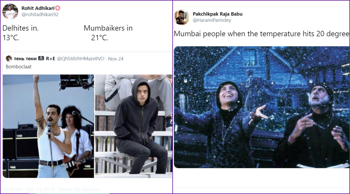 Mumbai Winter Funny Memes and Jokes Start Trending Online as City Experiences Slight Drop in Temperatures