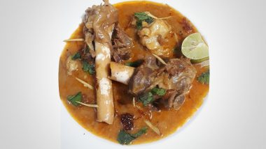 Why Mutton Nalli Nihari Should Be Eaten on Chilly Winter Mornings; Know History & Significance of The Traditional Mughlai Dish