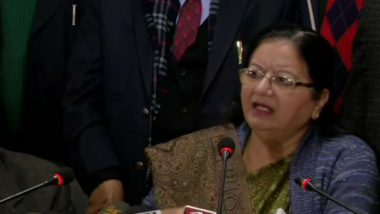 Jamia Millia Islamia University Vice-Chancellor Najma Akhtar Says Will File FIR Against Entry of Delhi Police Inside Campus, Dismisses Reports of Student Deaths