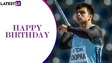 Neeraj Chopra Birthday Special: Interesting Facts About India's Javelin Throw Record Beater