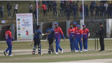 South Asian Games 2019, NEP vs BHU Cricket Live Streaming Online & Time in IST: Check Live Score Online, Get Free Telecast Details of Nepal vs Bhutan T20 Match on TV