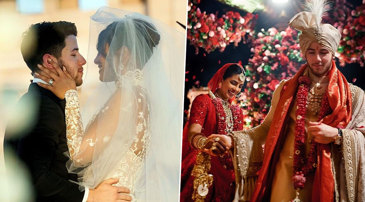 Priyanka Chopra and Nick Jonas Have The Mushiest First Wedding Anniversary Wishes For Each Other! (View Beautiful Pics)