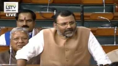 GDP to Have No Major Value in Future, 'Happiness' More Important: BJP MP Nishikant Dubey Tells Lok Sabha on Falling Growth Rate