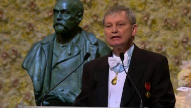 Nobel Prize 2019 Award Ceremony Live Streaming: Swedish Academy Confers Medals to Laureates