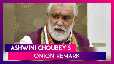 Never Tasted An Onion, How Will I Know About The Situation: Union Minister Ashwini Choubey Backs Nirmala Sitharaman