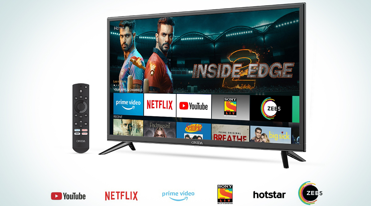 Amazon Partners With Onida To Launch Fire TV Edition Smart TVs In India; Check Prices, Features & Specifications