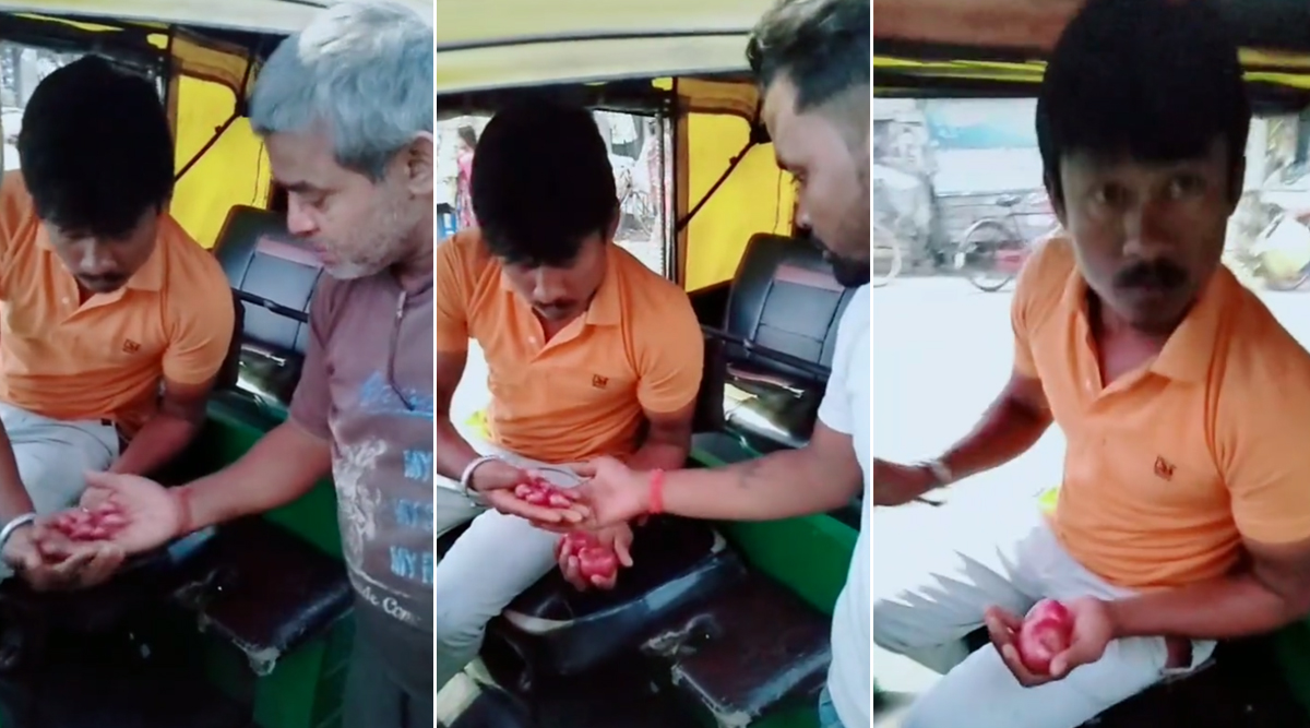 Onions Are The New Currency! Funny TikTok Video of 'Rickshaw Driver' Using The Bulb as Coins is Going Viral