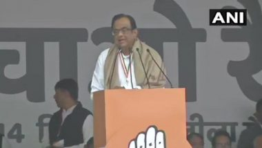 'Bharat Bachao' Rally: Indian Economy Wrecked, Modi's Ministers Are 'Clueless', Says P Chidambaram