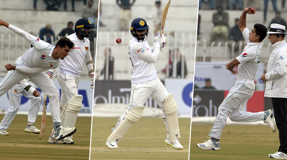 Pakistan vs Sri Lanka Live Cricket Score, 1st Test 2019, Day 4: Get Latest Match Scorecard and Ball-by-Ball Commentary Details for PAK vs SL 1st Test From Rawalpindi