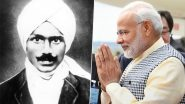 PM Narendra Modi Remembers Subramania Bharathi on Freedom Fighter's Birth Anniversary, Calls Great Tamil Writer 'Symbol of Patriotism, Social Reform and Poetic Genius'