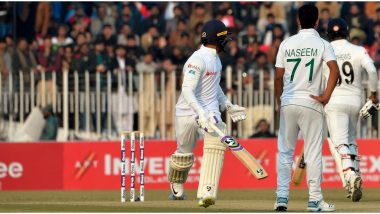 Pakistan vs Sri Lanka Live Cricket Score, 1st Test 2019, Day 5: Get Latest Match Scorecard and Ball-by-Ball Commentary Details for PAK vs SL 1st Test From Rawalpindi