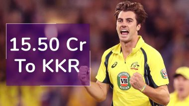 Most Expensive Players in IPL 2020 Auction: Pat Cummins Goes for 15.50 Crore, Full List of Expensive Cricketers Sold So Far