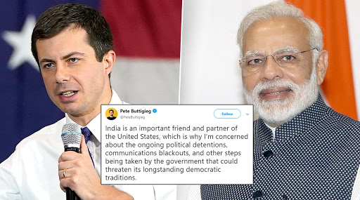 US Presidential Nominee Pete Buttigieg Expresses Concern on India's Anti-CAA Protests, Says Govt Action 'Could Threaten Longstanding Democratic Traditions'