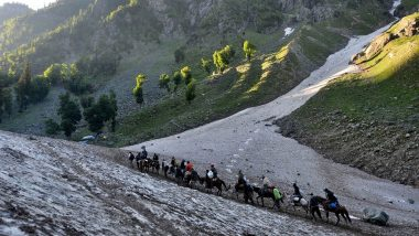 Amarnath Yatra 2020 Likely to be Conducted For 15 Days Via Baltal Route Amid Coronavirus Pandemic: Reports