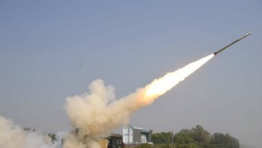 Pinaka Rockets, Manufactured by Private Firm Economic Explosives Ltd, Successfully Test Fired at Firing Range in Pokhran