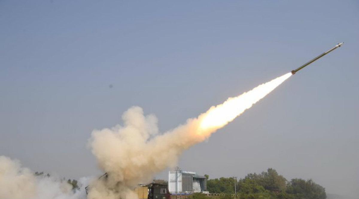 Pinaka Missile Test-Fired off Odisha Coast