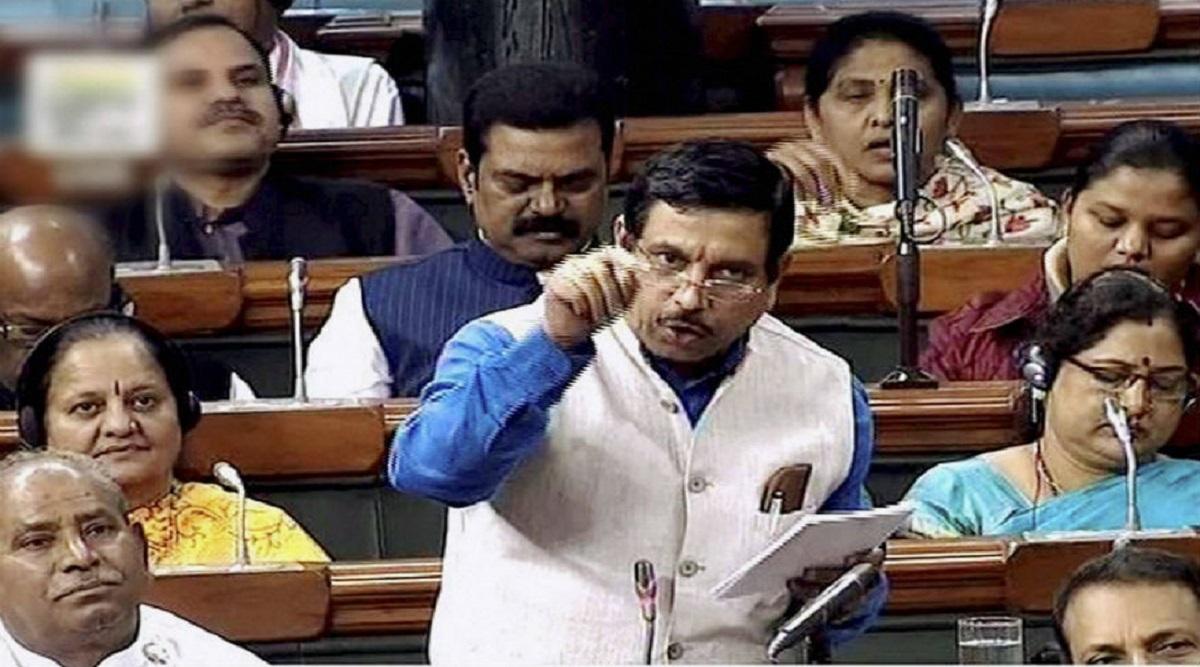 'Sonia Gandhi is an Intruder': Union Minister Prahlad Joshi Hits Back at Congress' Adhir Ranjan Chowdhury Amid Row Over NRC in Parliament