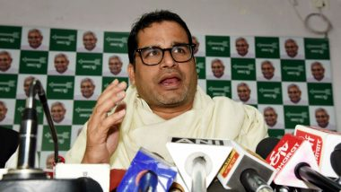 Prashant Kishor Accuses Nitish Kumar of Lying Over His Induction in JDU on 'Directions of Amit Shah'