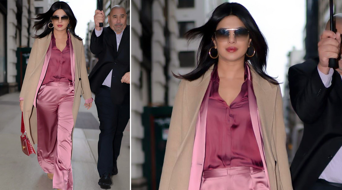Priyanka Chopra Wears Pink on Pink, Shows Us Why Monochrome Is Anything but Boring!