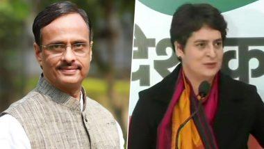 BJP Hits Back at Priyanka Gandhi With 'Disrespecting Hinduism' Charge For 'Saffron' Remark Against UP CM Yogi Adityanath