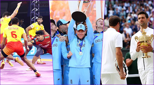 Cricket World Cup, Pro Kabaddi League, Wimbledon Top the Most-Searched Sports Events in Google Year in Search 2019 India List