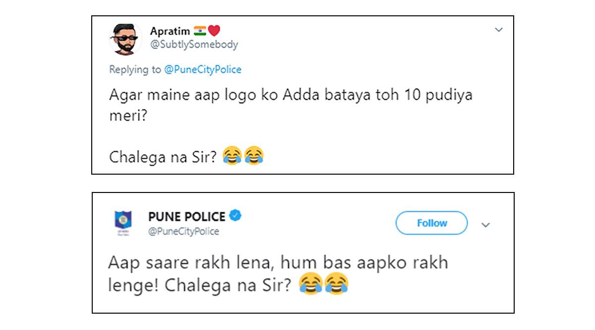 Pune Police's Response to 'LSD' Tweet Wins the Internet on New Year's Eve, Twitterati Thanks Police For Funny Replies