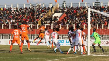 I-League 2019–20: Punjab FC Play Thrilling Game Against Aizawl FC, Football Match Ends in Tie 3–3