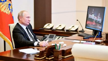 Vladimir Putin Still Uses 'Outdated' Windows XP Despite Hacking Threats, Shows Picture Released by Kremlin
