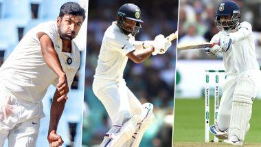 Ranji Trophy 2019–20: Ajinkya Rahane, Prithvi Shaw Notch Fifties on Day One; Cheteshwar Pujara, R Ashwin Fail to Impress